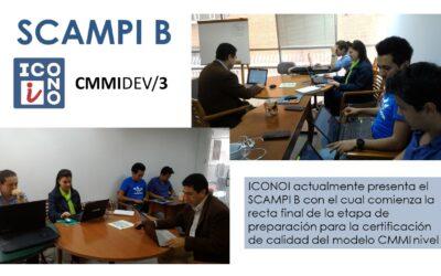 ICONOI culmina su proceso de preparación del modelo CMMI